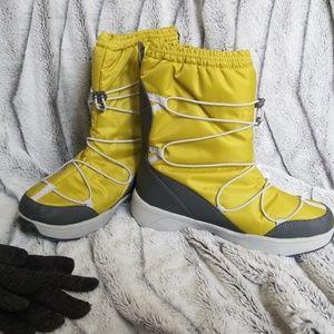 Lands End Lime Snow Boots